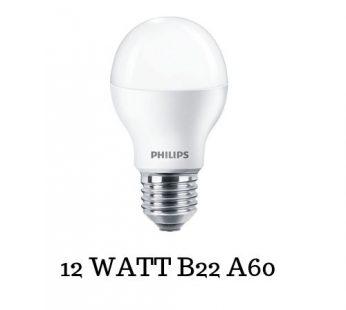 PHILIPS 12WATT B22 A60 LED (COOL DAYLIGHT)