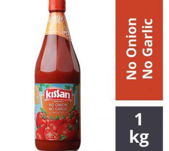 KISSAN NO ONION NO GARLIC TOMATO SAUCE 1KG