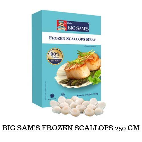 BIG SAM'S SCALLOPS 250GM