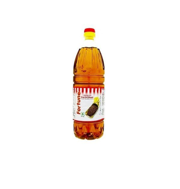 FORTUNE KACHI GHANI MUSTARD OIL 1LT