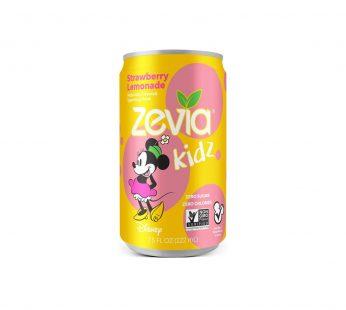 Zevia Kidz Strawberry Lemonade Zero Calorie Soda